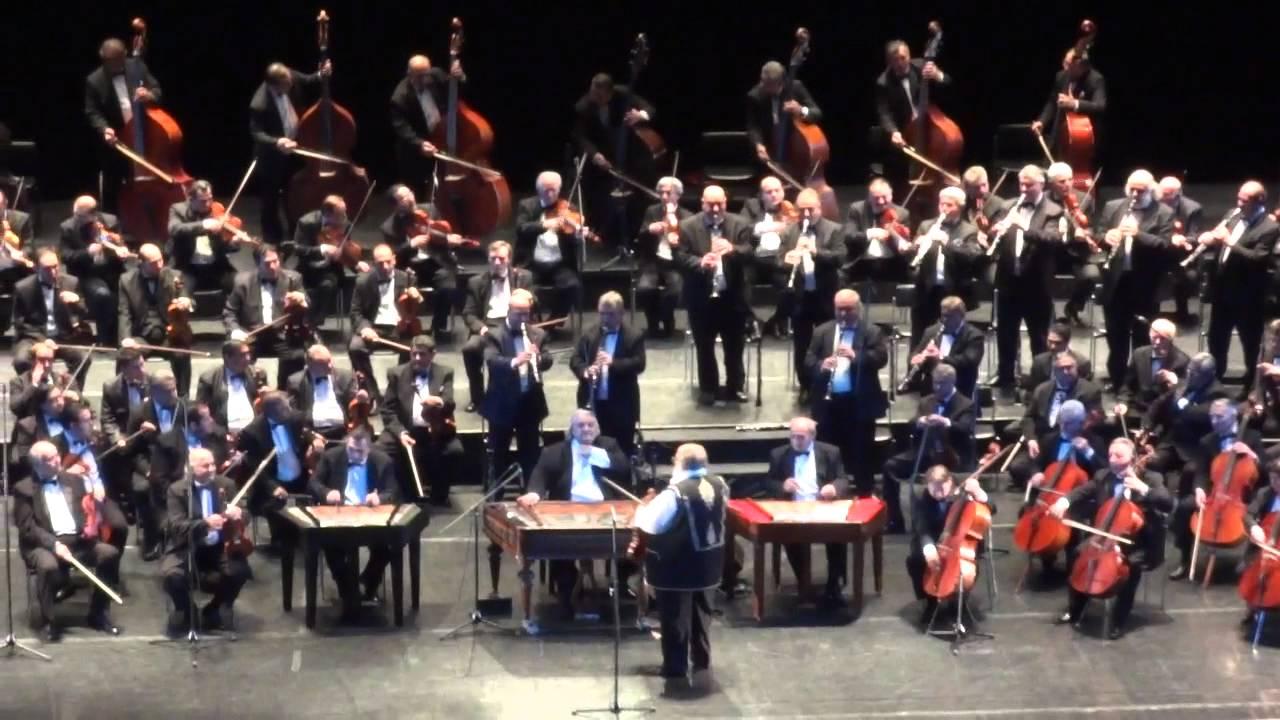 Гала-концерт Будапештского симфонического оркестра«100 цыганских скрипок»