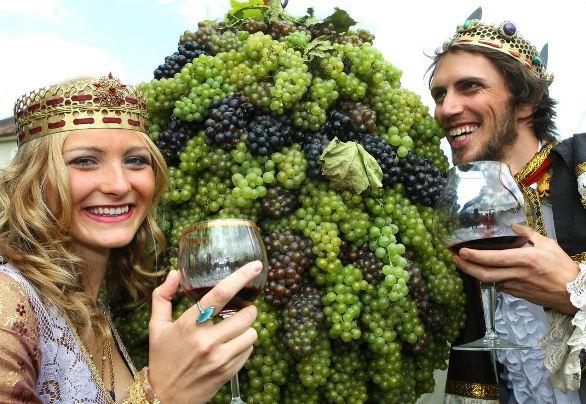 Праздник сбора винограда в Палаве