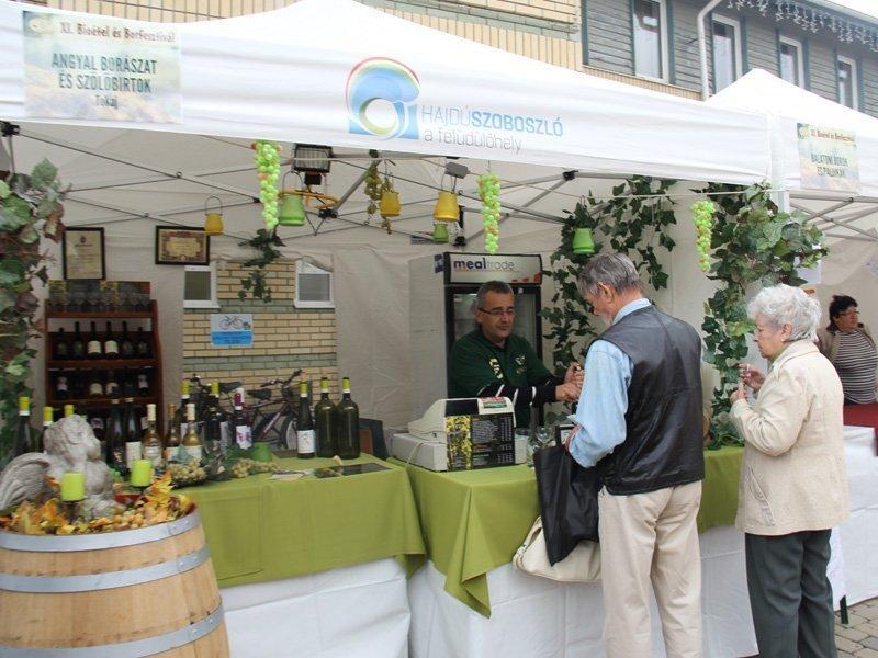 Винный фестиваль и фестиваль биопродуктов